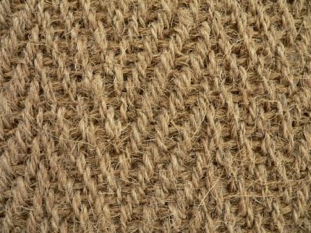 Coir Herringbone Natural